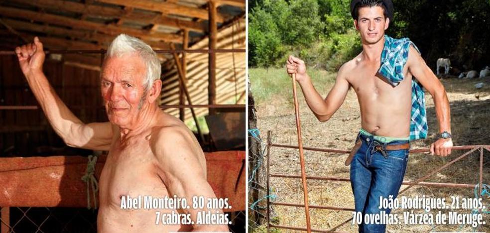 Los pastores portugueses luchan contra los incendios a golpe de posado sexy