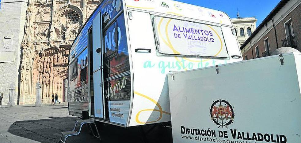 Una caravana para difundir el atractivo turístico de Valladolid