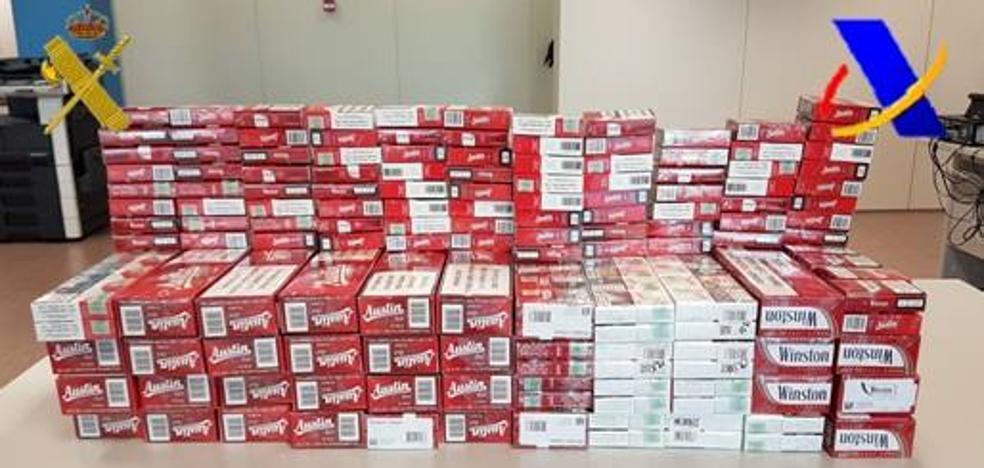 La Guardia Civil se incauta de 526 cajetillas de contrabando en un establecimiento de Valladolid
