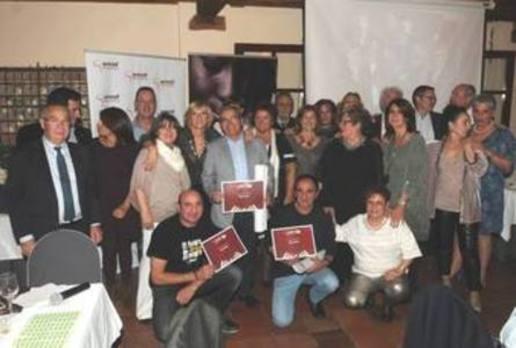 Amref-Segovia rinde homenaje a Vicente Calle, alcalde de La Lastrilla