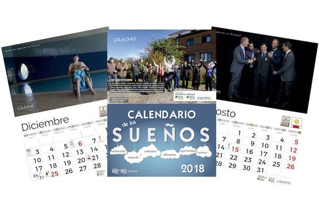 El calendario solidario 'Sueños' del Grupo Fundación San Cebrián ya está disponible
