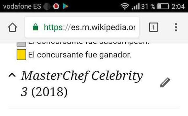 Indignación con la final de 'Masterchef Celebrity'
