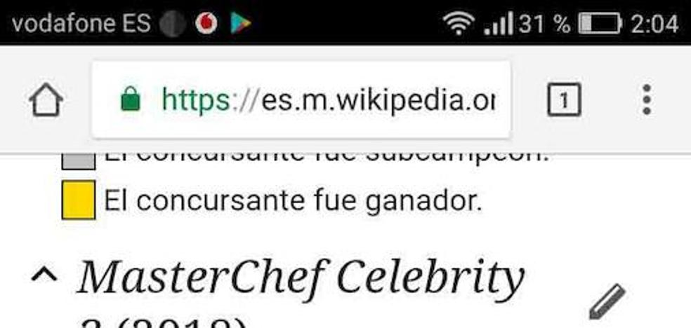 Indignación con la final de 'Masterchef Celebrity'