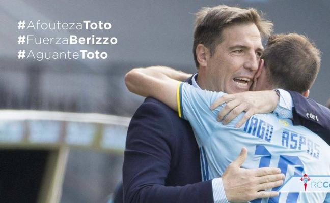 El mundo del fútbol se vuelca con Berizzo