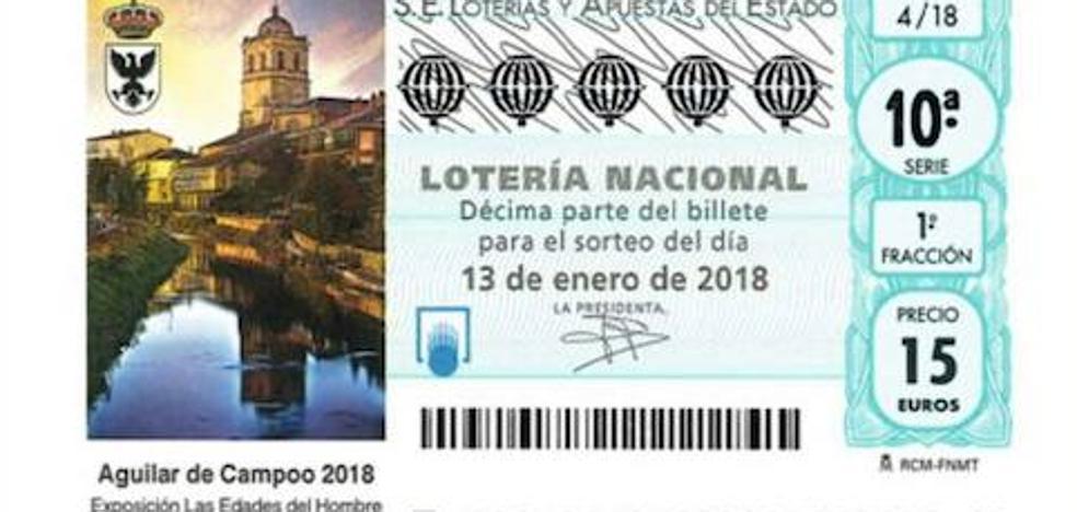 Aguilar promocionará Las Edades del Hombre en la Lotería Nacional