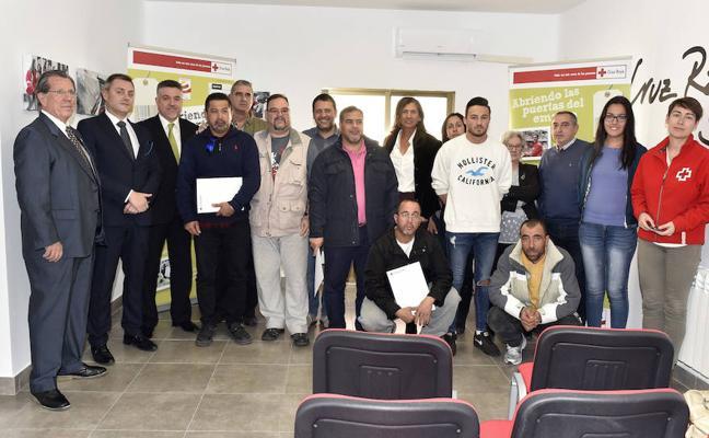 Cruz Roja concluye en El espinar su curso sobre tecnología de la carne