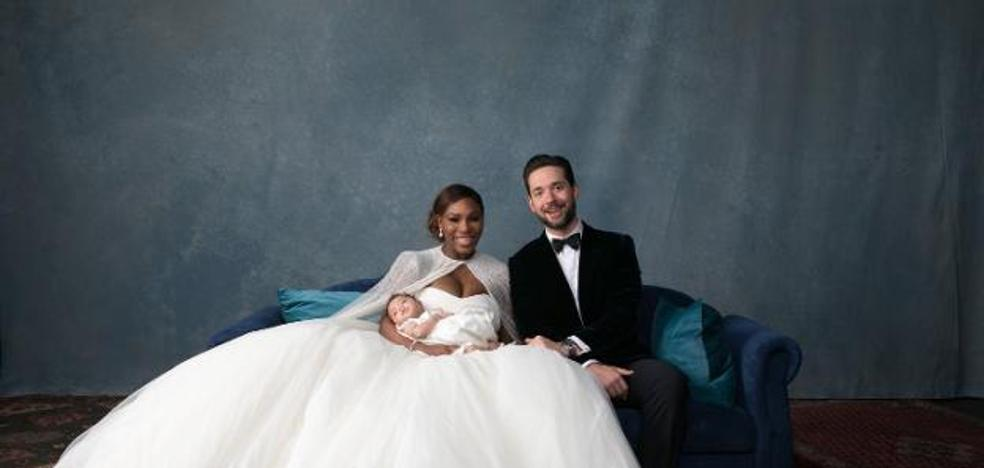Espectaculares fotos de la boda de Serena Williams y Alexis Ohanian