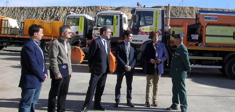 El equipo de vialidad invernal en las carreteras del Estado de Segovia cuenta con 600 personas