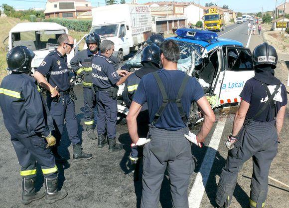 Fatídico persecución policial