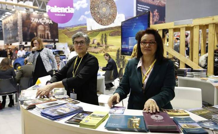 Palencia presenta su oferta turística en Intur