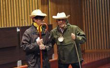 Santiago Hidalgo y Santiago Bellido presentan 'Las caras del deporte vallisoletano'