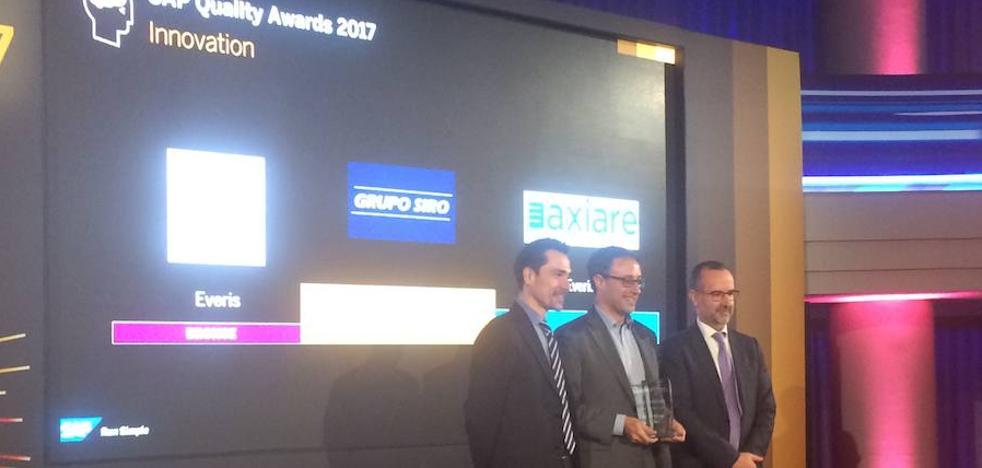 Grupo Siro recibe un premio por el proyecto de Fábricas sin Papeles