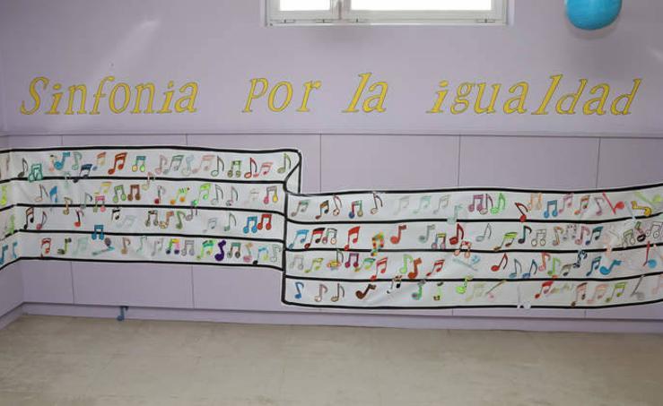 El CEIP Marqués de Santillana ha realizado un acto contra la violencia de género