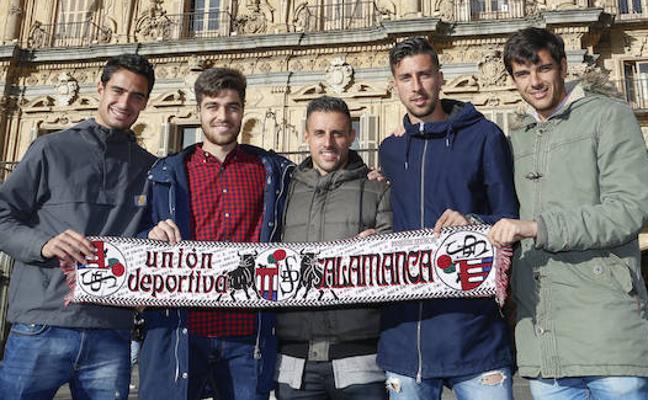 Un derbi entre amigos del CF Salmantino y Unionistas de Salamanca