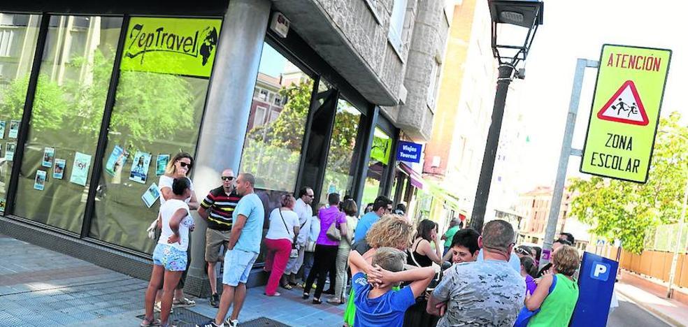 Los afectados de Zep Travel en Palencia avanzan en la recuperación de su dinero
