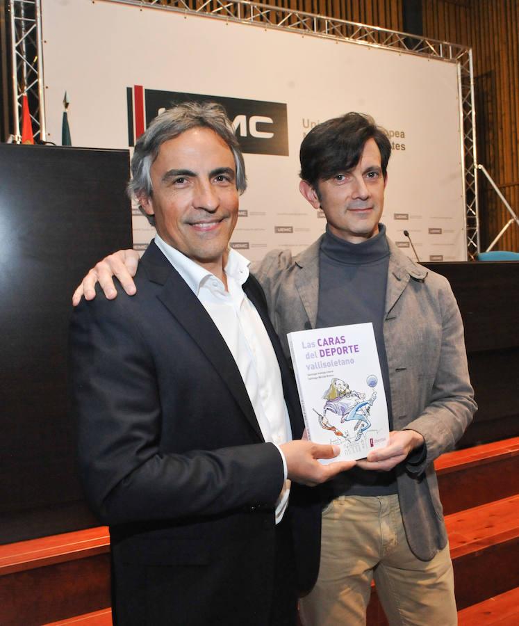 Santiago Hidalgo y Santiago Bellido presentan el libro 'Las caras del deporte'