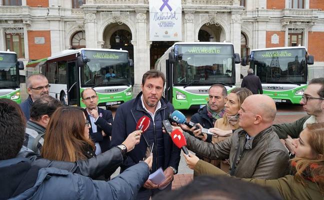 12 nuevos autobuses se incorporan a la flota de Auvasa tras una inversión de 2,7 millones