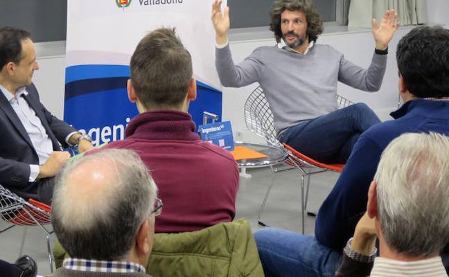 Charla de Pedro Serrahima en el Colegio de Ingenieros Valladolid