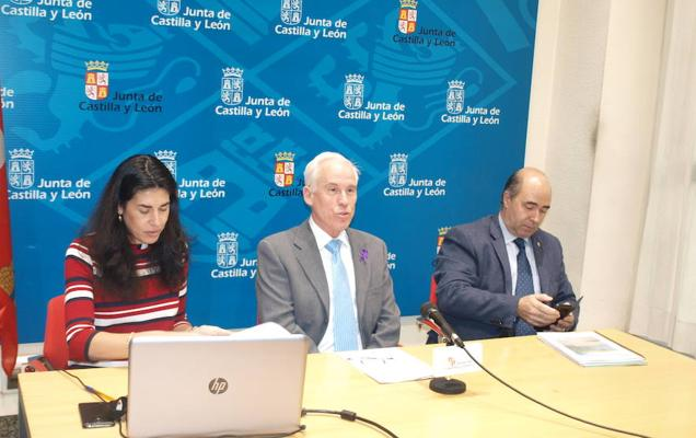 131 profesionales forman el operativo por el riesgo de nevadas en Palencia