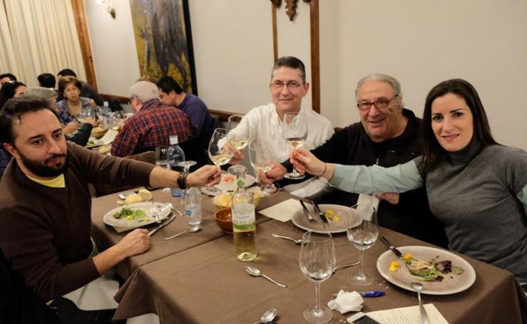Cata en el restaurante Los Mellizos de Segovia