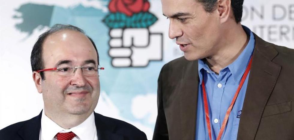 Sánchez afirma que la derecha ha reaccionado con «ceguera» ante el independentismo