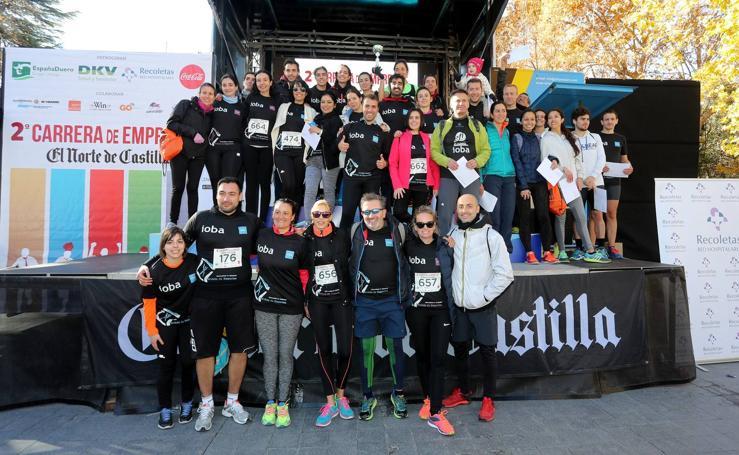Entrega de premios de la II Carrera de Empresas de El Norte de Castilla