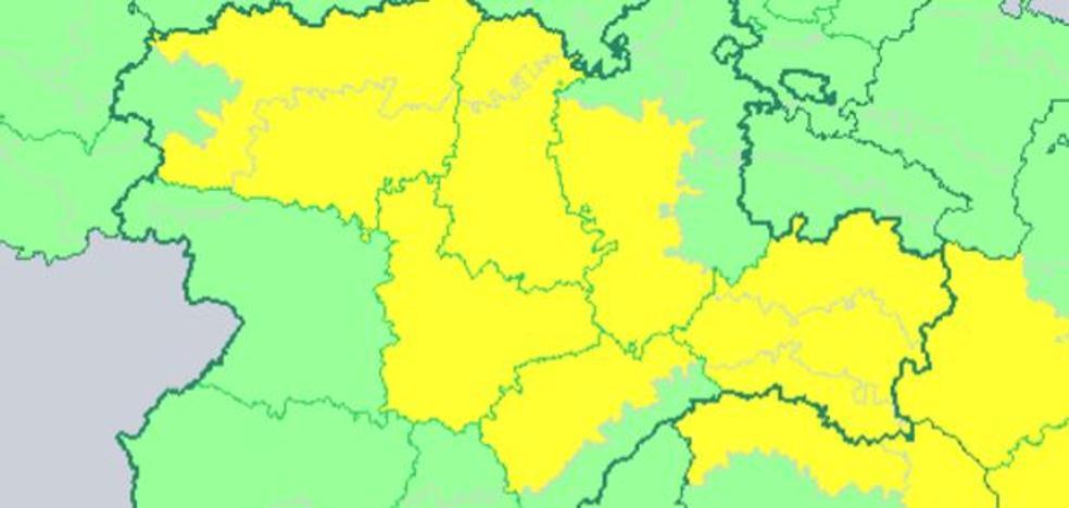León, Palencia, Valladolid, Burgos, Segovia y Soria, en alerta amarilla por frío