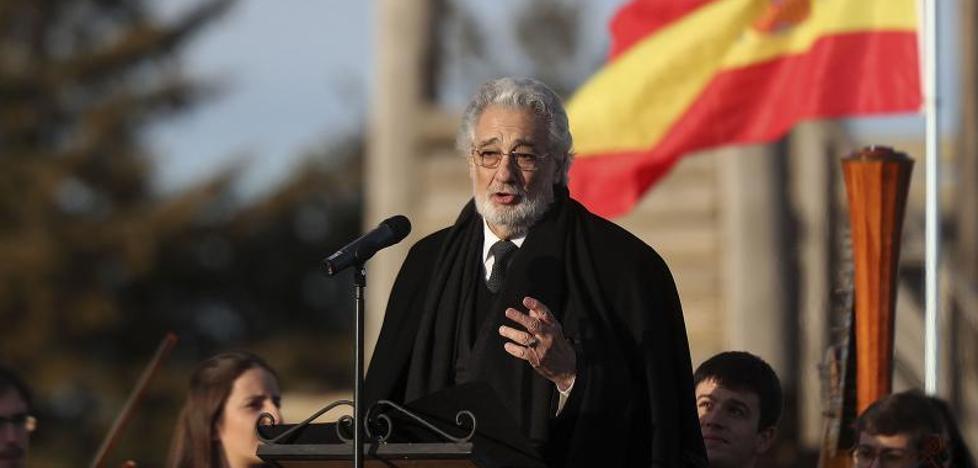 Plácido Domingo homenajea a los héroes de Numancia en el 2.150 aniversario de la caída de la ciudad celtíbera