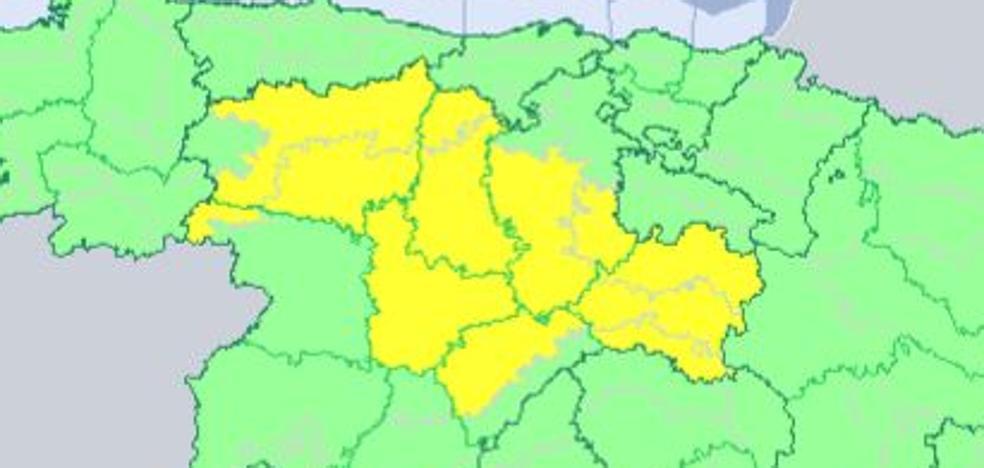 Siete provincias de Castilla y León, en alerta por bajas temperaturas