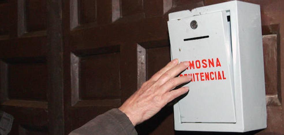 La diócesis advierte a los párrocos: «Ni un euro en los cepillos»
