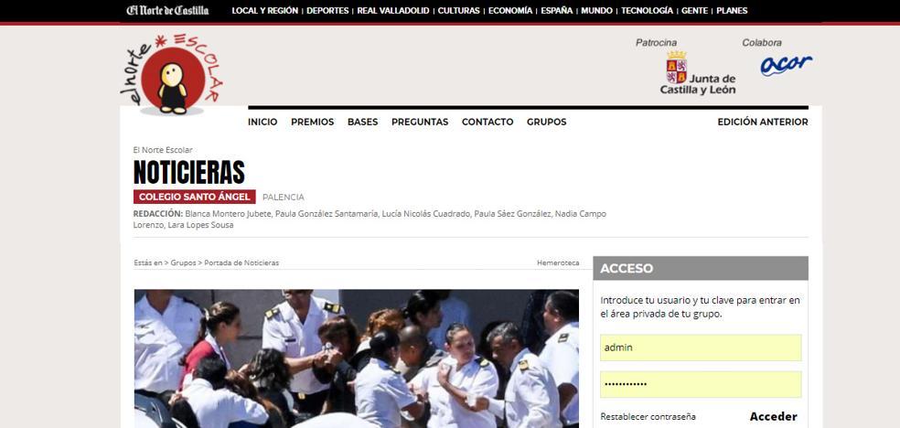 El quinto premio semanal de El Norte escolar recae en Palencia