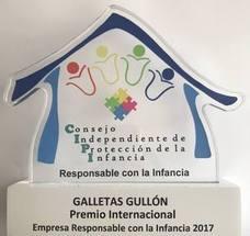Gullón recibe el Premio Internacional Empresas Responsables con la Infancia
