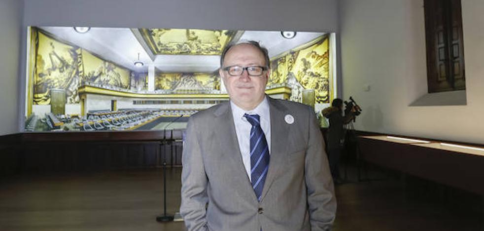 La ONU inspira la nueva imagen del Aula Francisco de Vitoria
