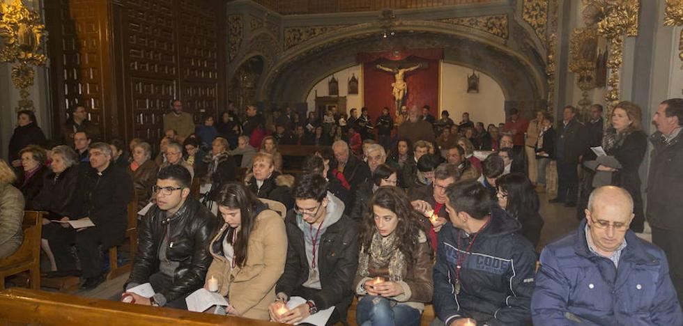 La capilla de la Vera Cruz perderá en 2018 a las Esclavas del Santísimo