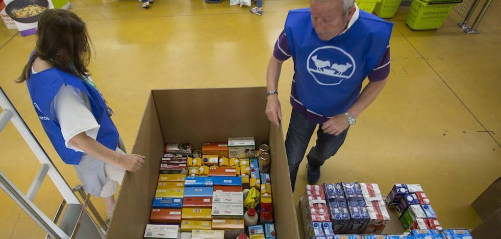 El Banco de Alimentos necesita 300 voluntarios para la gran campaña