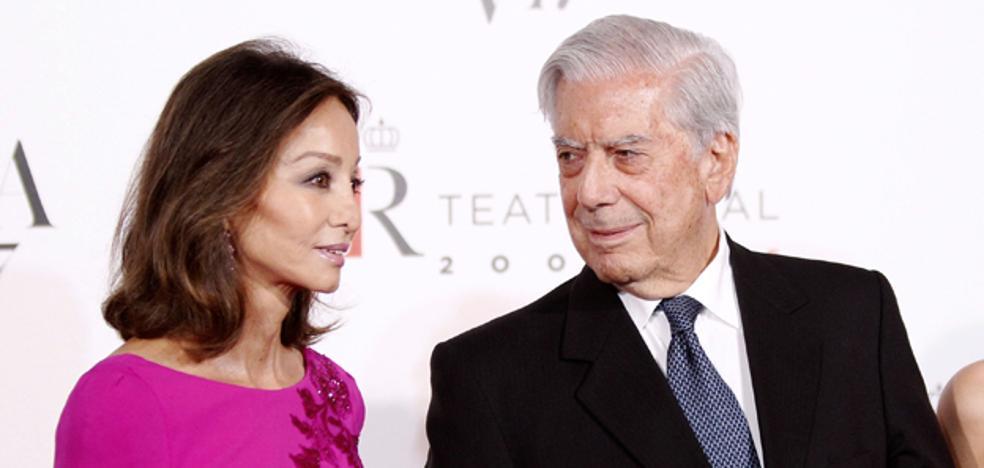 Isabel Preysler y Mario Vargas Llosa, pillados en una discusión