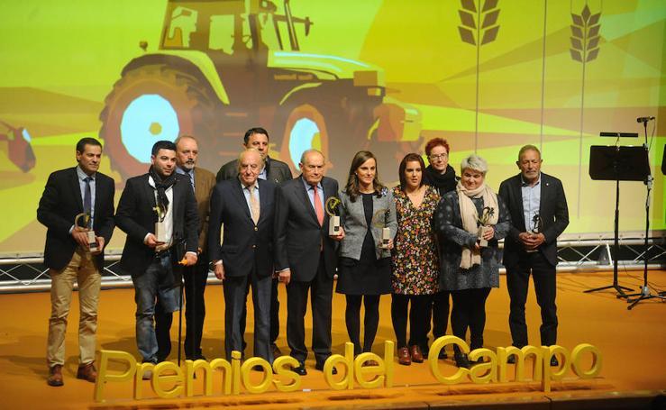Galardonados de los IV Premios del Campo de El Norte de Castilla