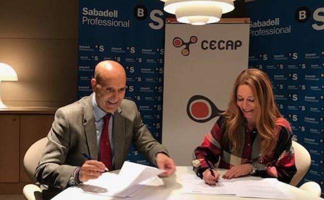 Banco Sabadell ofrece ventajas financieras a las empresas de formación de Castilla y León
