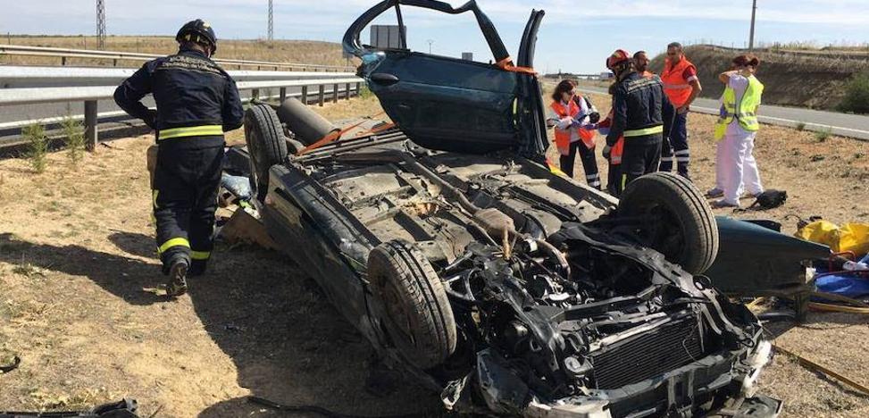 La provincia de Valladolid contabiliza 22 muertos en accidentes de tráfico en lo que va de año