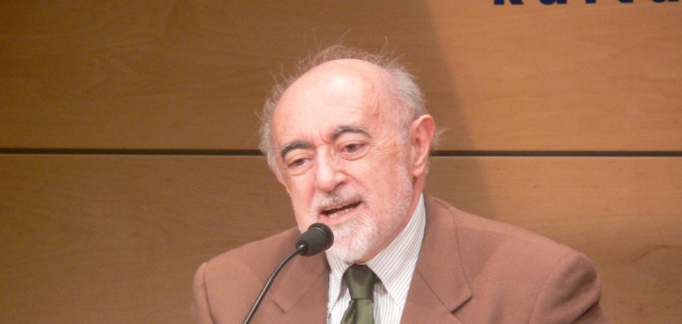 Carlos García Gual, nuevo titular de la silla 'J' de la RAE