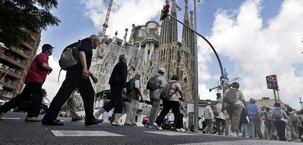 La llegada de turistas extranjeros a Cataluña cayó un 4,7% en octubre