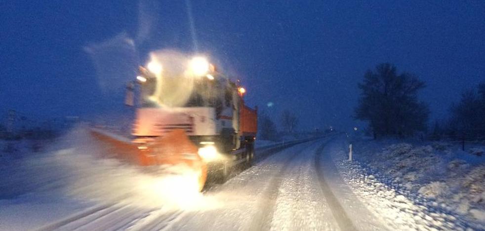 La Diputación de Segovia pone en marcha el dispositivo de nevadas