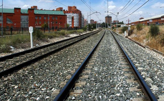 Drones que vigilan vías del tren