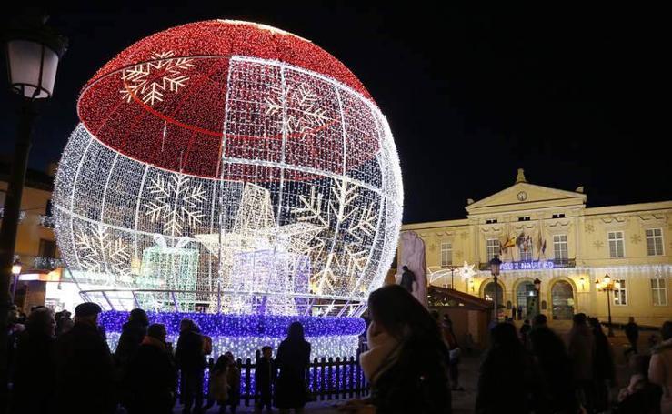 La Navidad ilumina Palencia