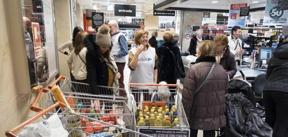 4.500 familias vallisoletanas recibirán cestas navideñas del Banco de Alimentos