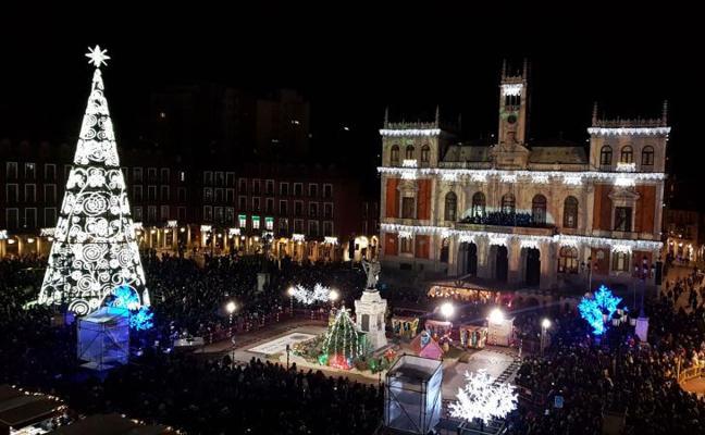 Valladolid enciende su Navidad