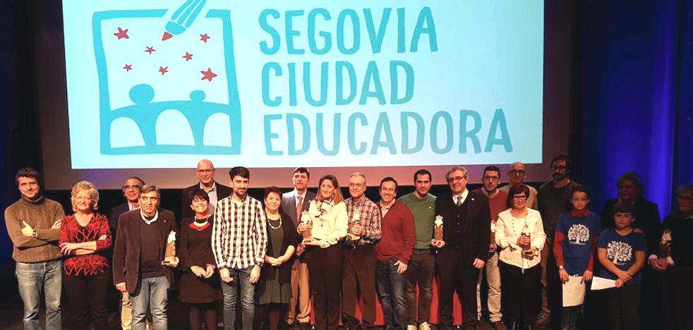 Segovia Ciudad Educadora reconoce el trabajo de centros y docentes