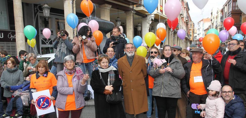 Las personas con discapacidad de Palencia piden que se tengan en cuenta sus capacidades
