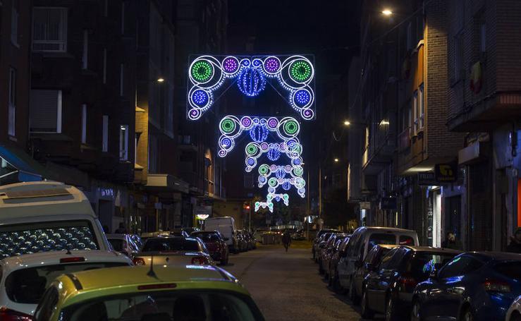 Iluminación de Navidad en Valladolid