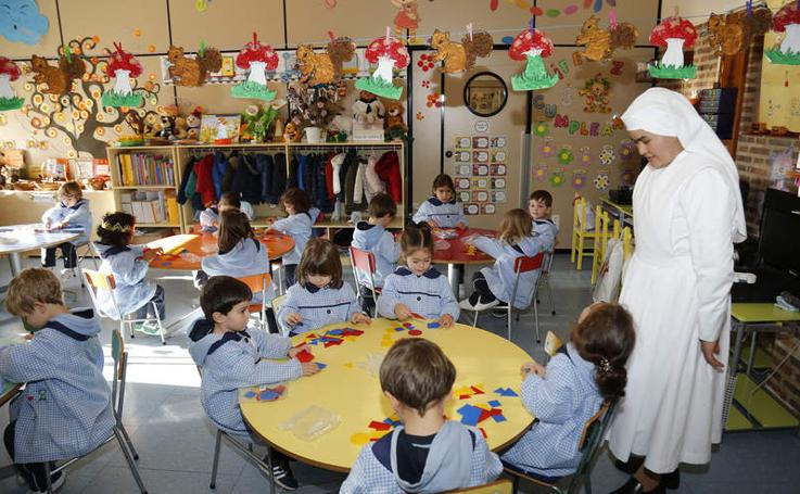 Así es el colegio Corazón de María de Palencia